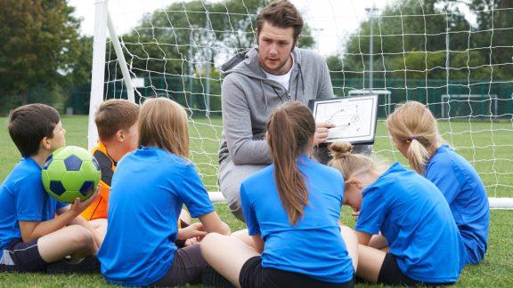 Coach Facilitating Team