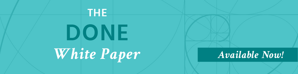 The Done White Paper Header