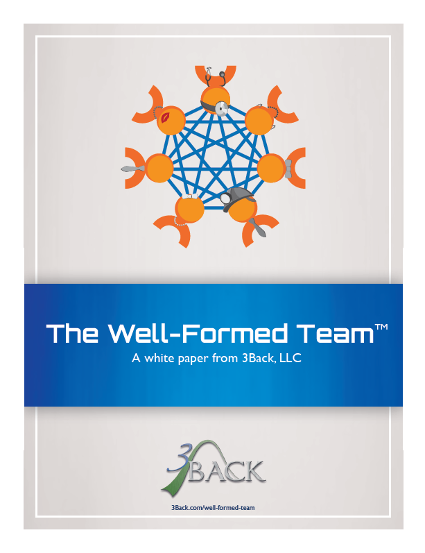 3Back The Well-Formed Team White Paper Cover